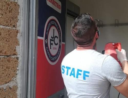 Servizio di Sanificazione presso l'ASD JFC Civita Castellana